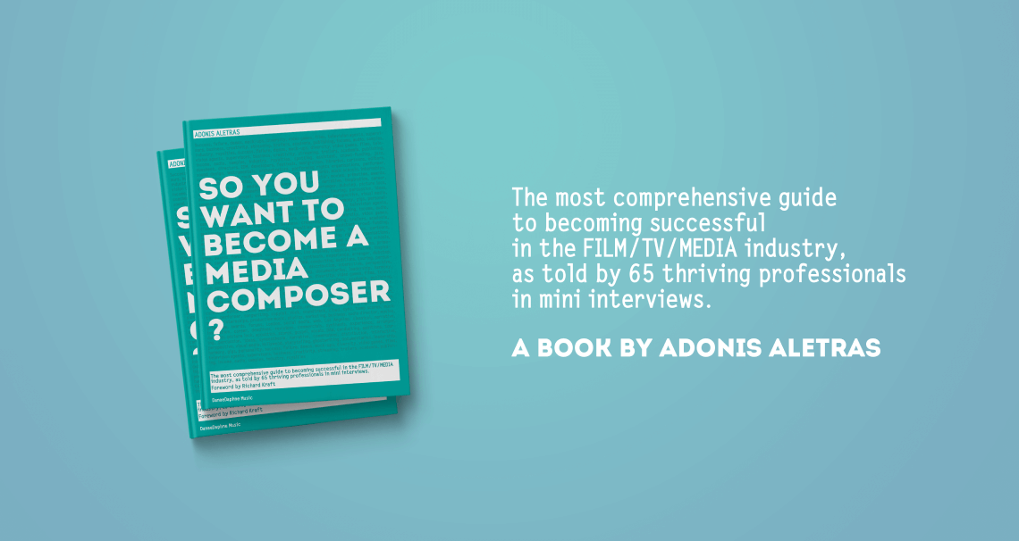So, you want to become a media composer?: The most comprehensive guide to becoming successful in the film/TV/media industry, as told by 65 thriving professionals in mini interviews!